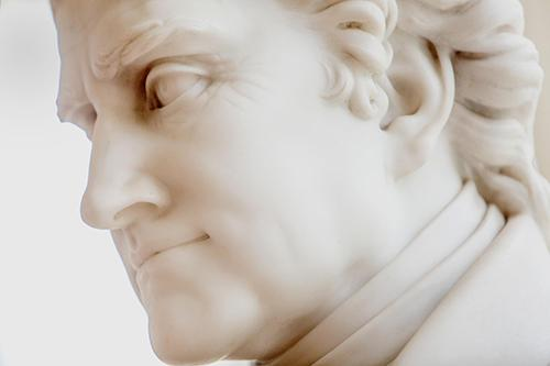 Thomas Jefferson statue by artist Gault