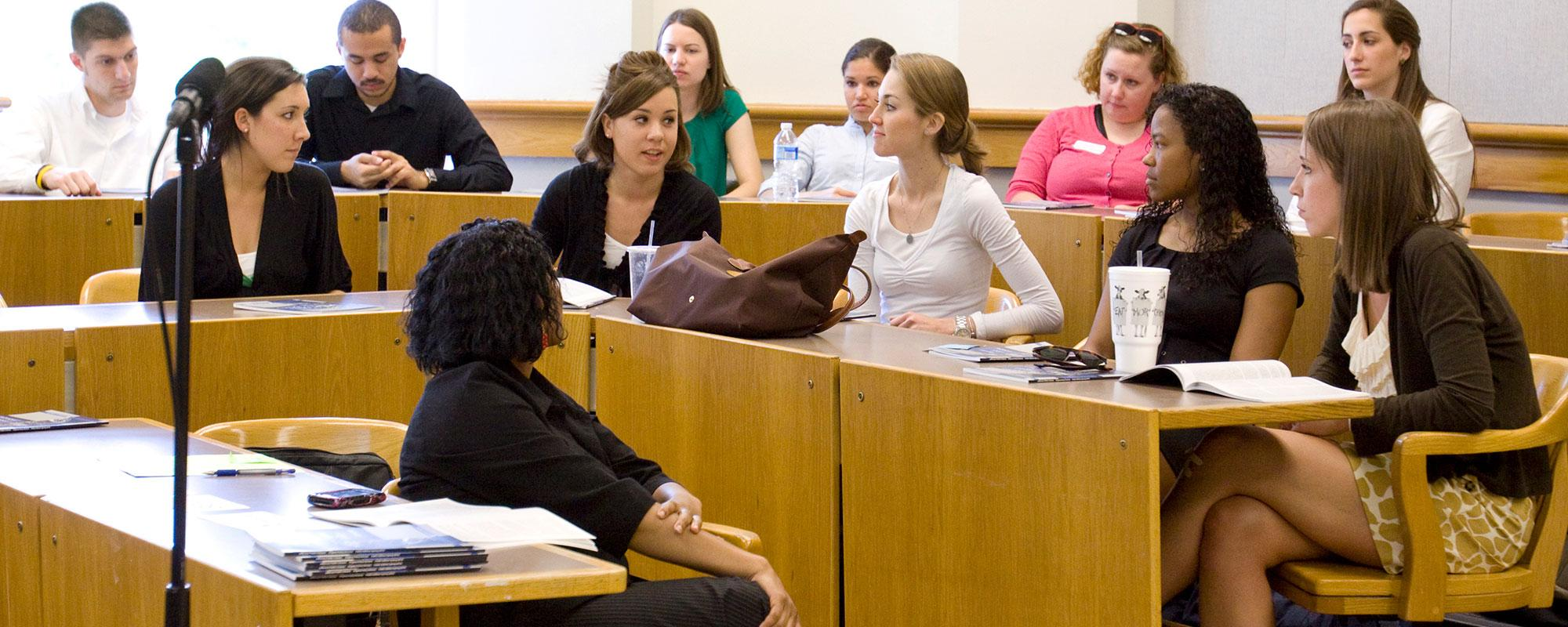 Jefferson Public Citizens students in class